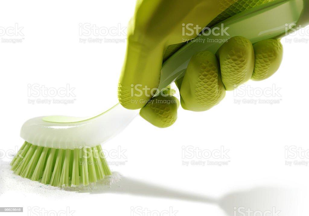 Brushing Arm stock photo