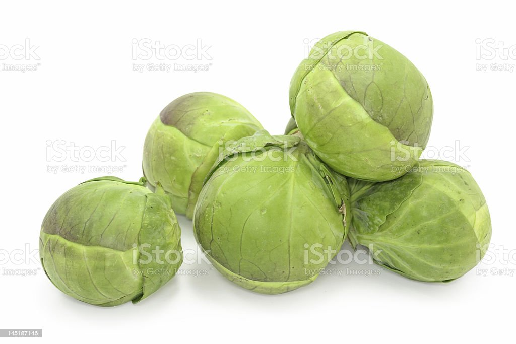 brussel sprouts cabbage royalty-free stock photo