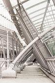 Brussel-Luxemburg Railway Station in Brussels, Belgium