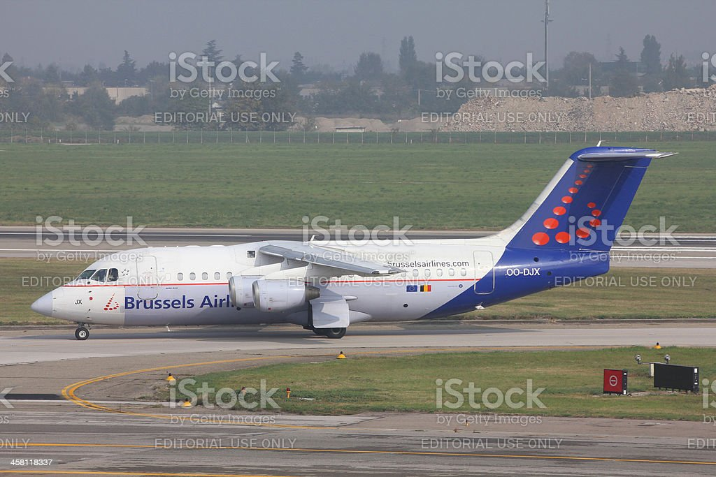 Brussels Airlines stock photo