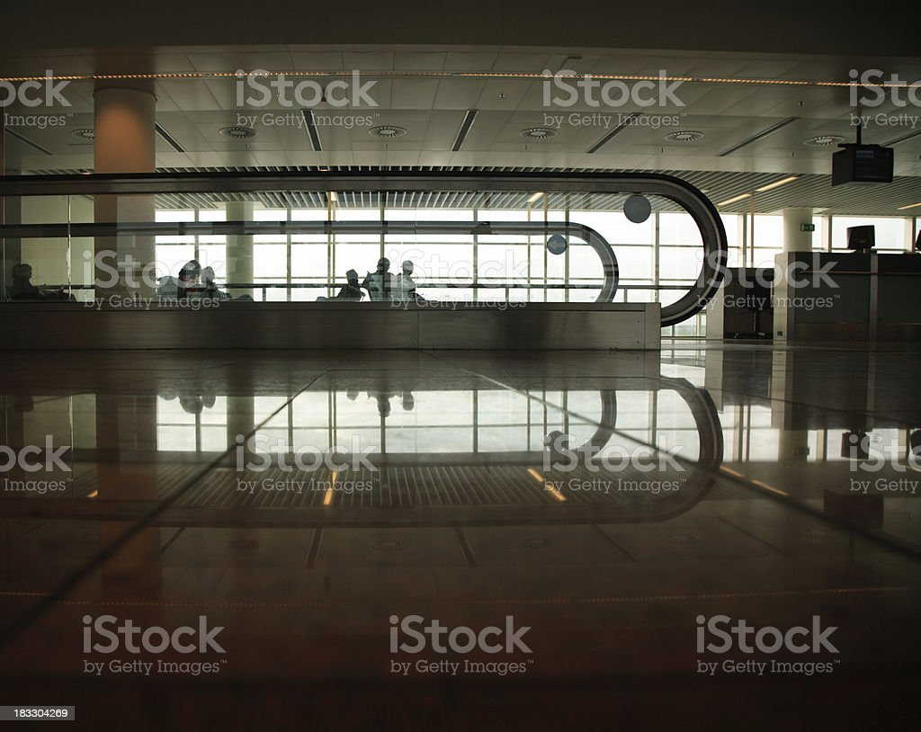 Brussels: Airport stock photo