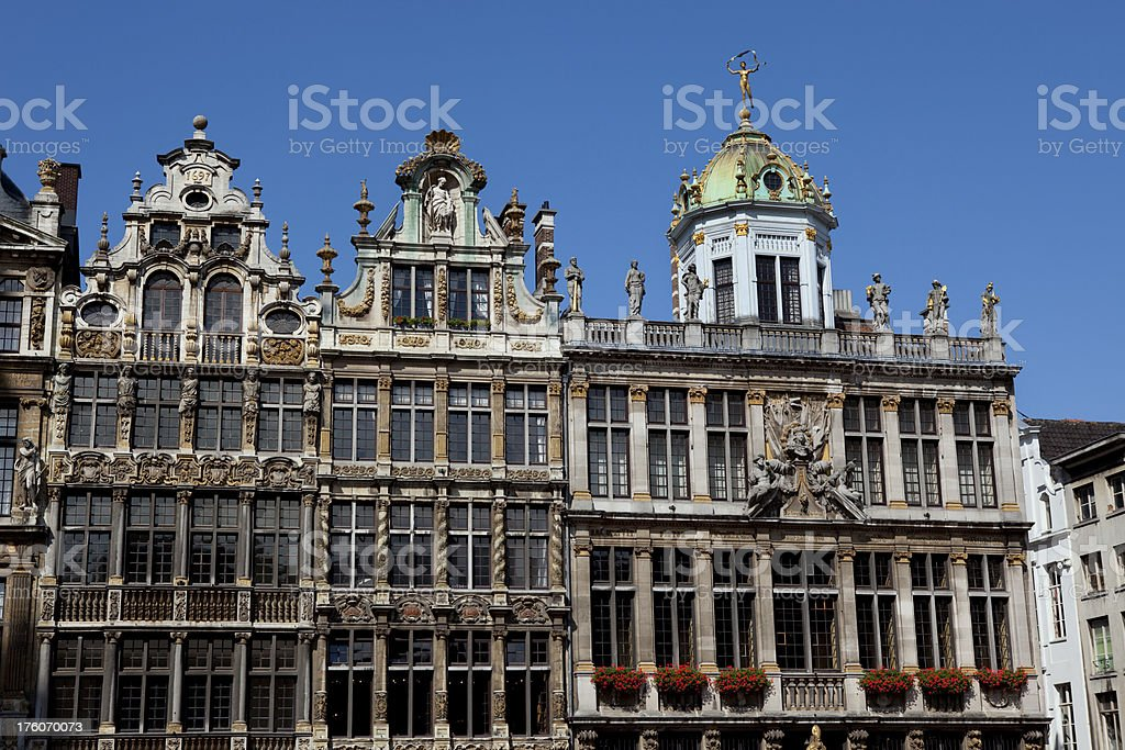 Brussels Belgium Architecture royalty-free stock photo
