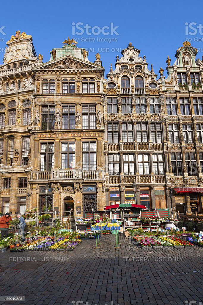 Brussels, Belgium, Grand Place royalty-free stock photo