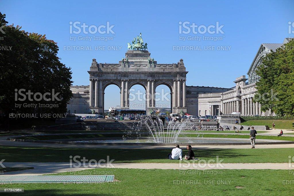 Brussels, Belgium, October 2, 2015 stock photo