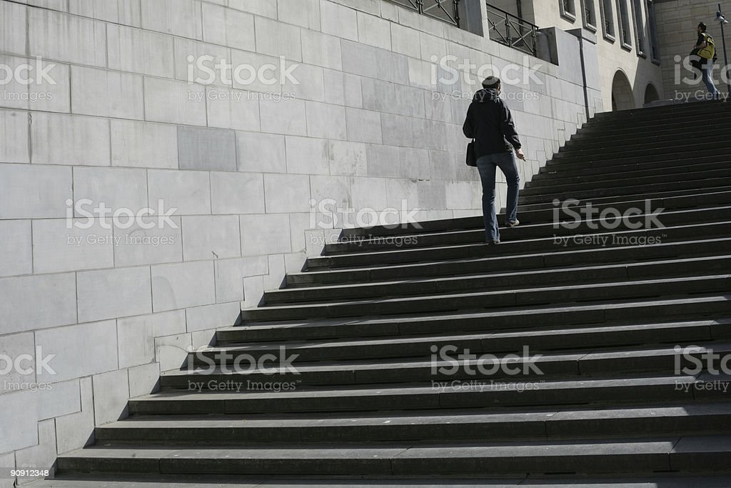 brussels downtown royalty-free stock photo