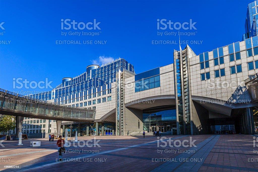 Brussels - EU Parliament, Belgium stock photo