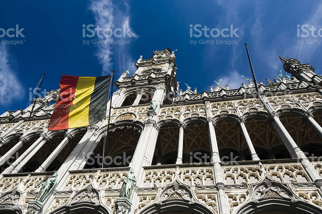 Brussels - Grand Place royalty-free stock photo