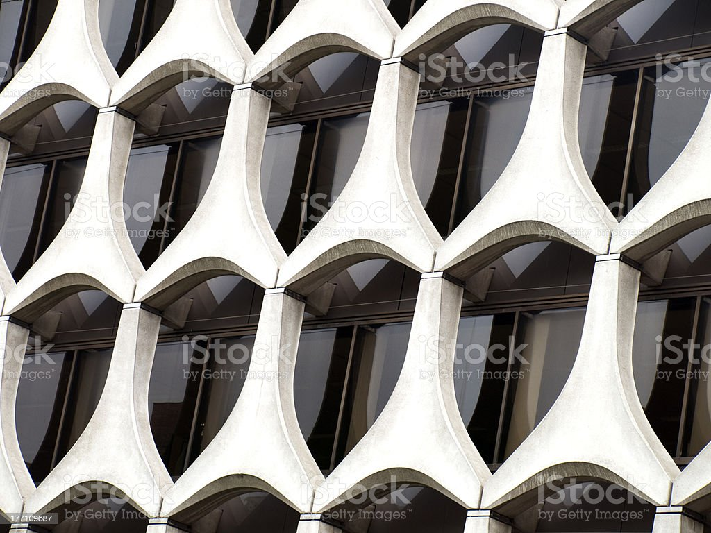 Brussels macro architecture royalty-free stock photo