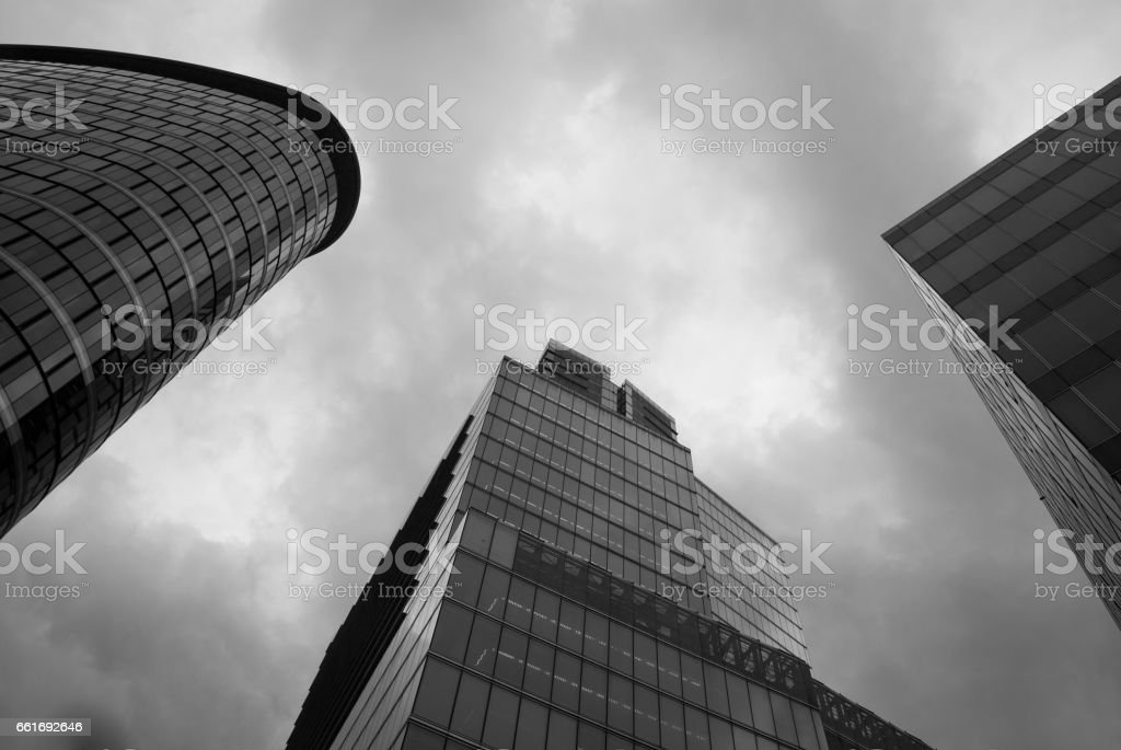 Brussels Skyscrapers stock photo
