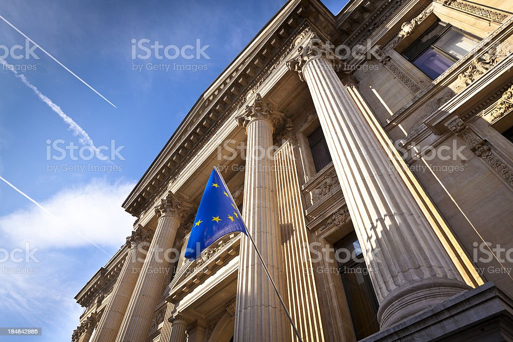 brussels stock exchange royalty-free stock photo