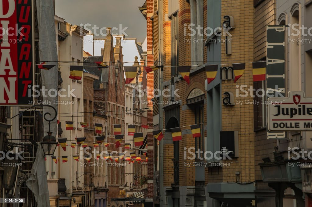 Brussels Streets I stock photo