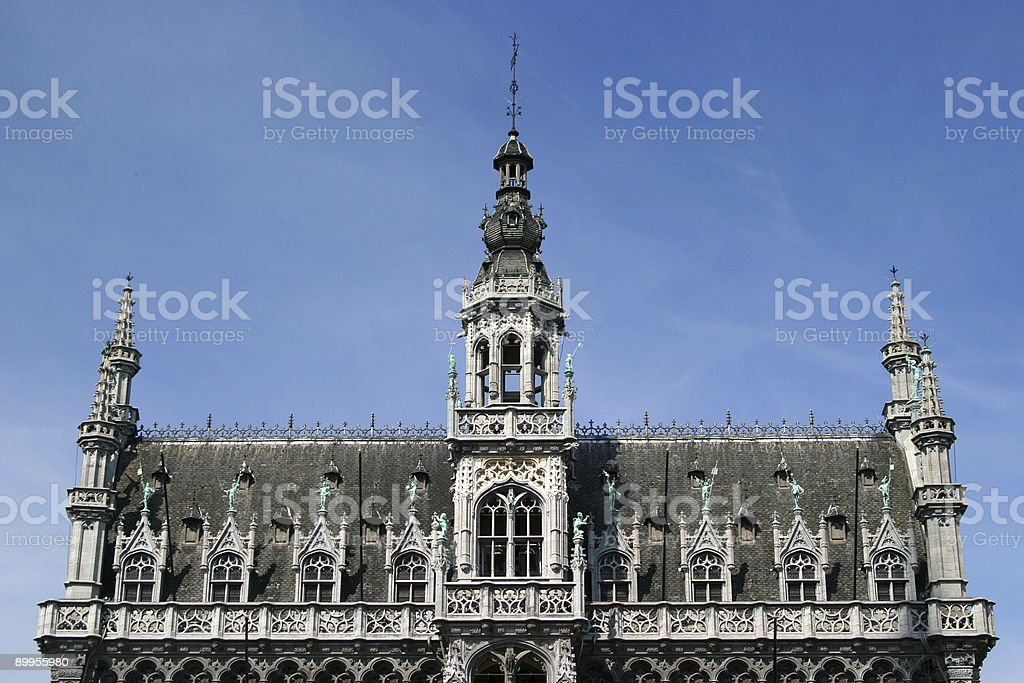 Brussels - La Grand Place royalty-free stock photo