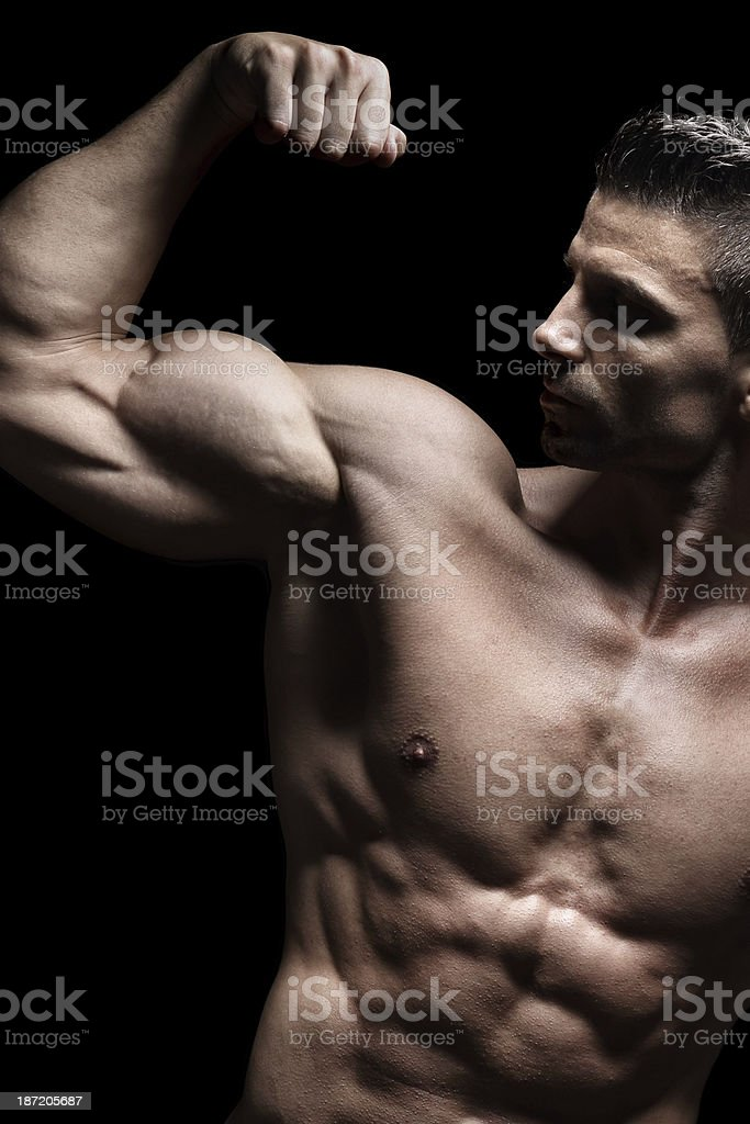 Brutal power royalty-free stock photo