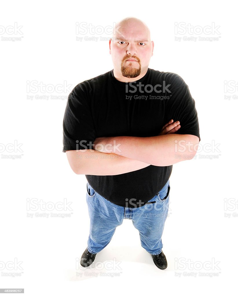 Brute Strength royalty-free stock photo