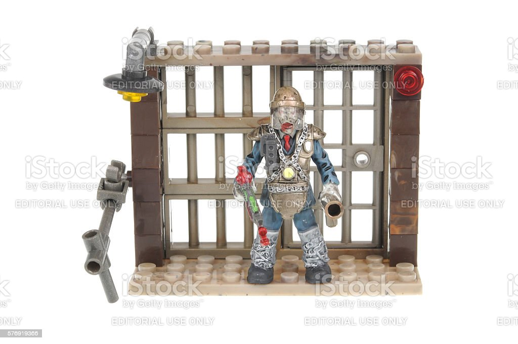 Brutus Call of Duty Mega Bloks Construction Kit stock photo