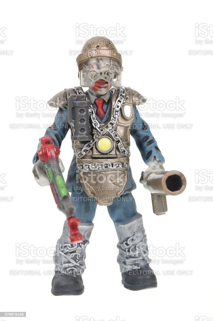 Brutus Mini Action Figure Mega Bloks Call Of Duty Figurine stock photo