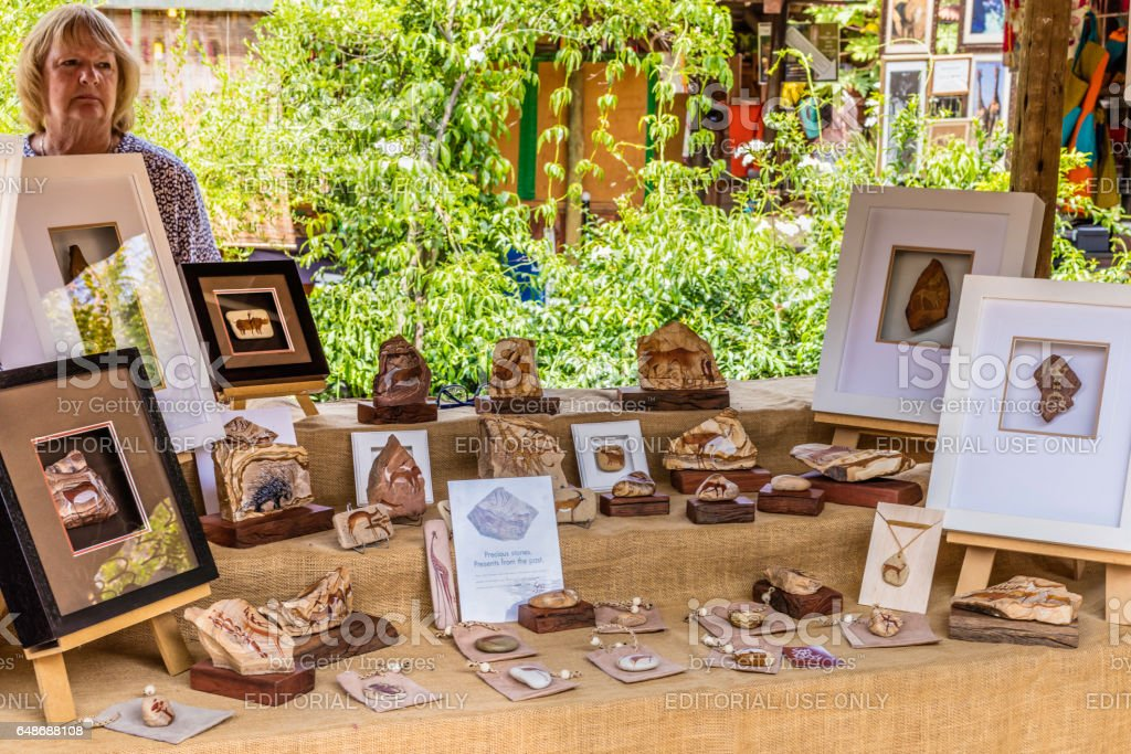 Bryanston Organic and Natural Market stock photo