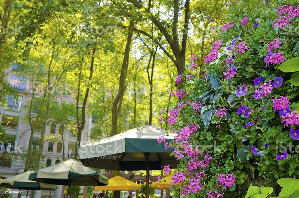 Bryant Park at Lower Midtown Manhattan in New York City stock photo