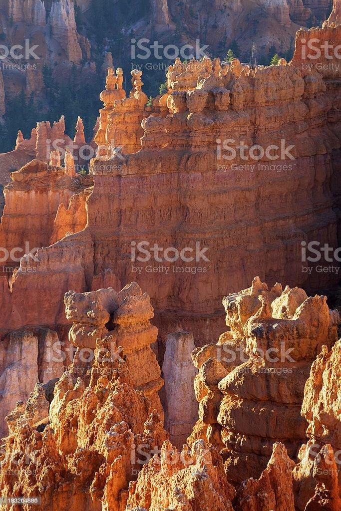 Un cuore ardente di Bryce Canyon foto stock royalty-free