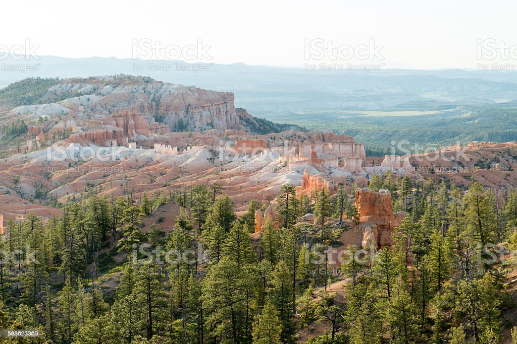 Bryce Canyon Amphitheater stock photo