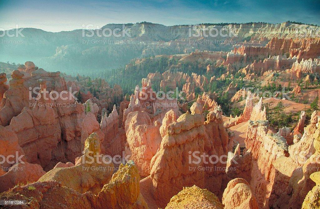 Bryce Canyon at Dawn stock photo