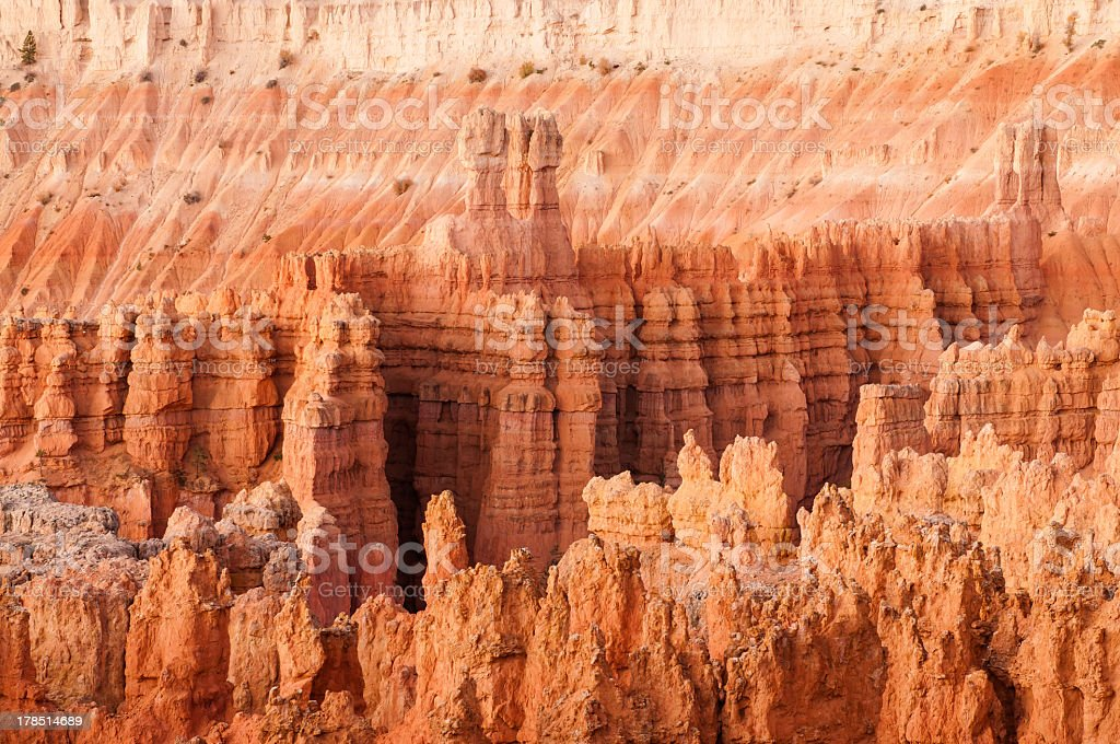 Bryce Canyon at sunrise royalty-free stock photo
