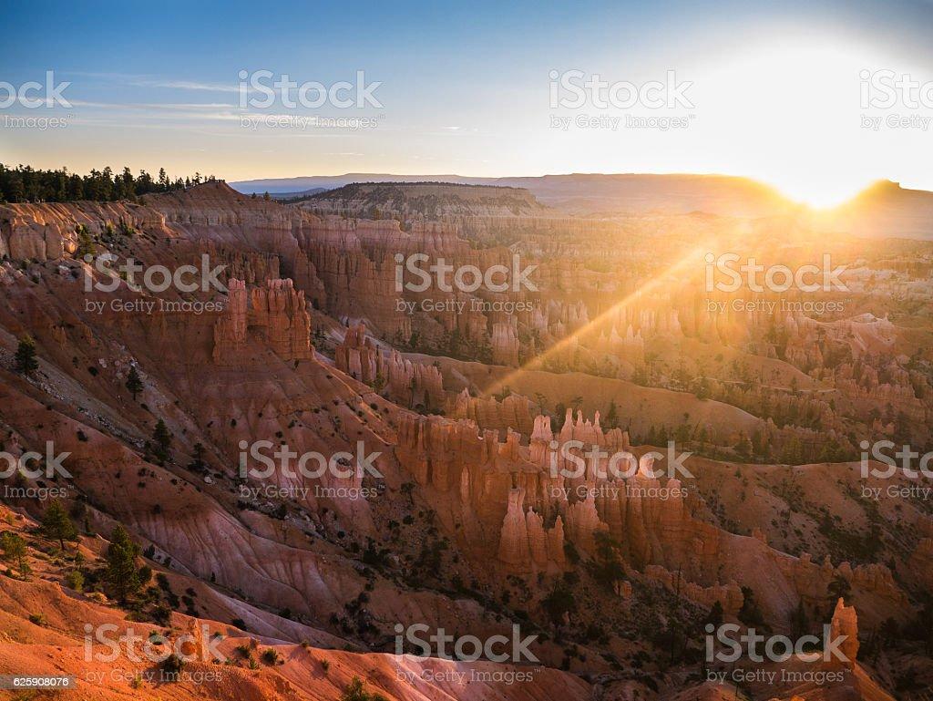 Bryce Canyon at Sunrise stock photo