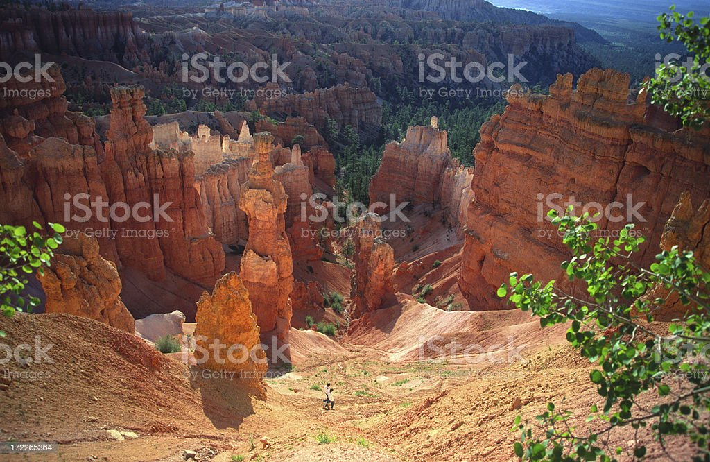 Bryce Canyon at Sunset stock photo