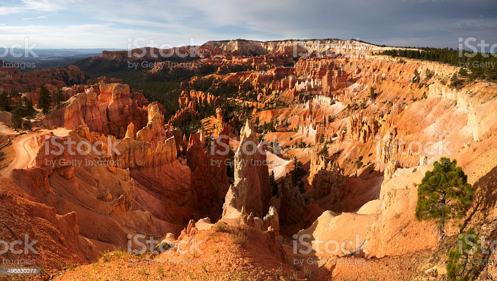 Bryce Canyon National Park from Queens Garden Trail royalty-free stock photo
