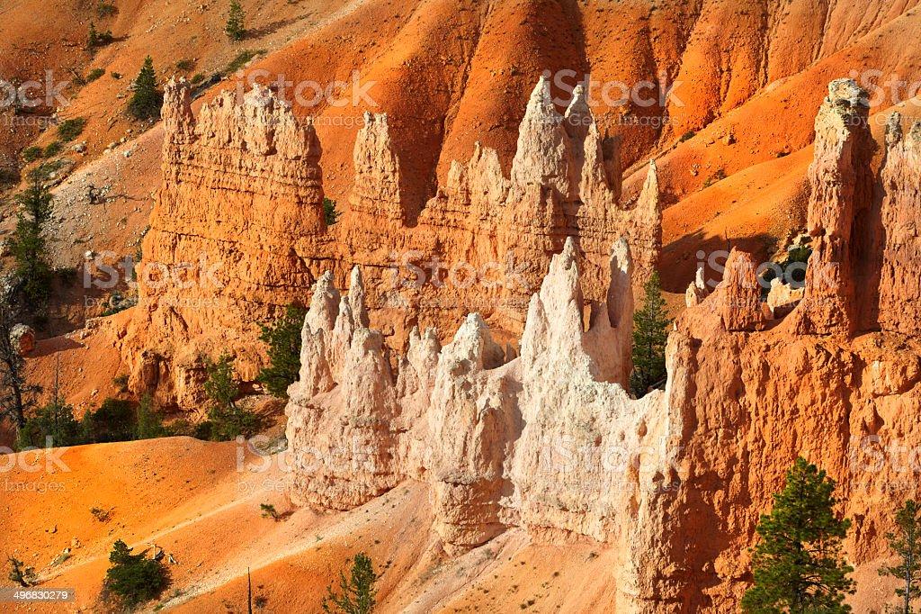 Bryce Canyon National Park : Hoodoos at the Amphitheatre royalty-free stock photo