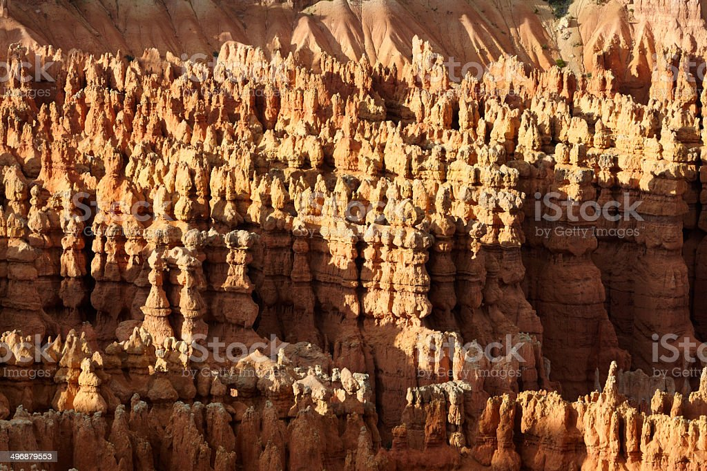 Bryce Canyon National Park : Hoodoos from Inspiration Point royalty-free stock photo