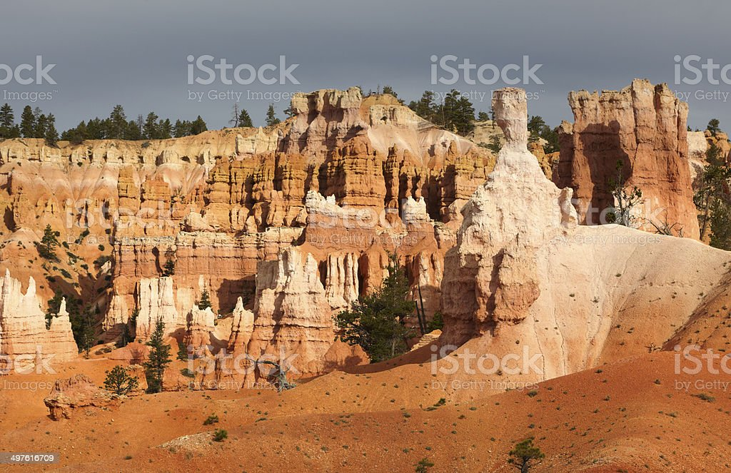 Bryce Canyon National Park : Queens Garden and Queen Victoria stock photo