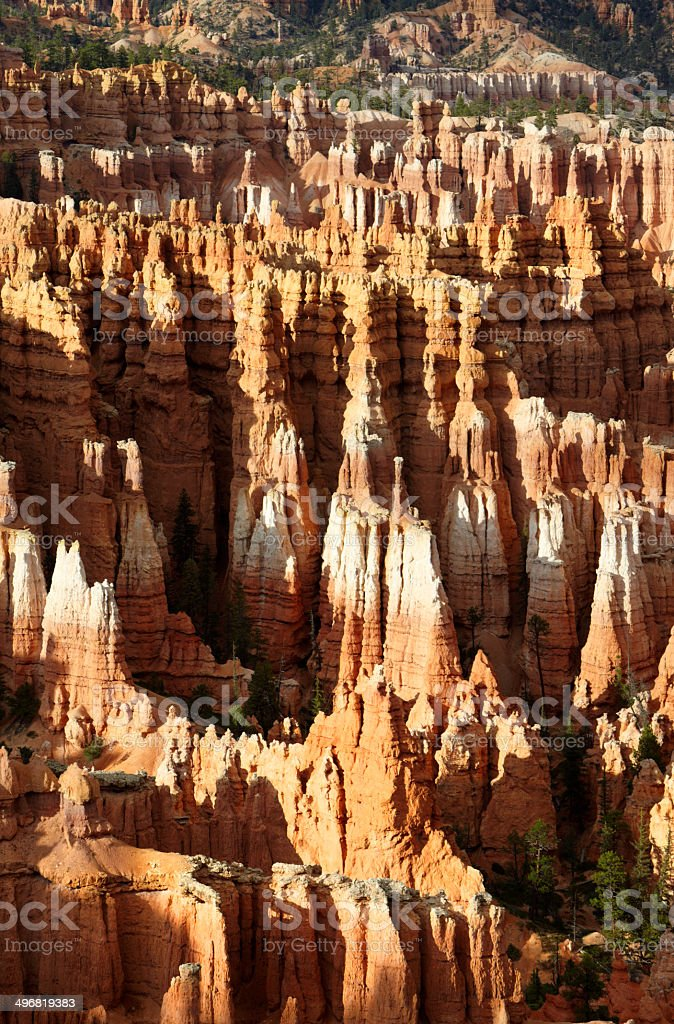 Bryce Canyon National Park : The Amphitheatre from Inspiration Point royalty-free stock photo