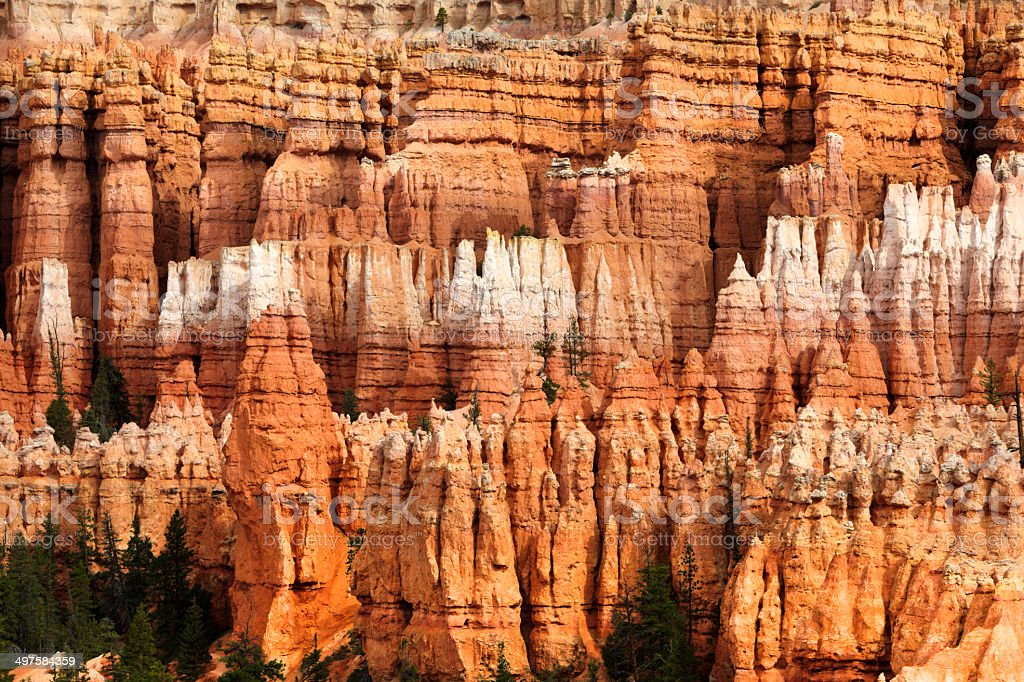 Bryce Canyon National Park : The Amphitheatre stock photo