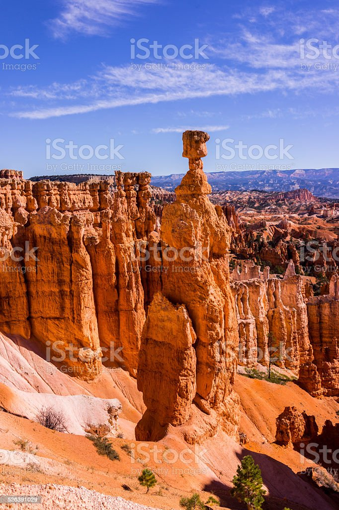 Bryce Canyon National Park (Utah, United States). The Bryce Amphiteater stock photo