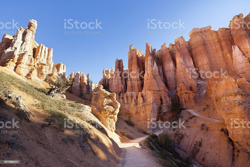 Bryce Canyon National Park USA royalty-free stock photo