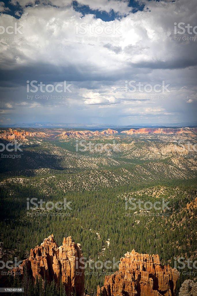 Bryce Canyon National Park Utah USA royalty-free stock photo