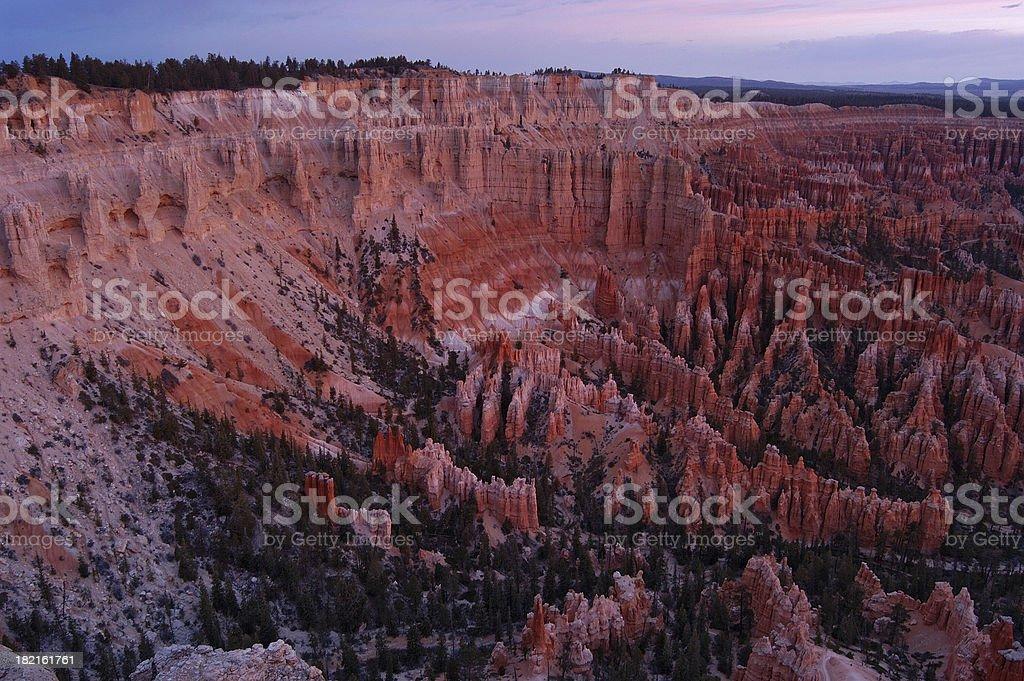 Bryce Canyon Sunrise royalty-free stock photo
