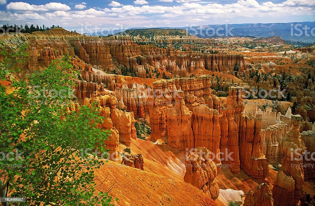 Bryce Canyon, Sunrise Point stock photo