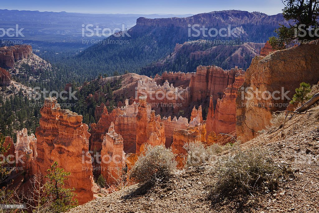 Bryce Canyon, Sunset Point royalty-free stock photo