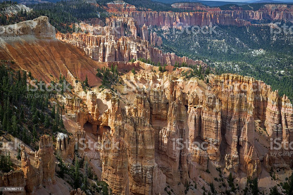 Bryce Rock Formation in Utah Western USA royalty-free stock photo