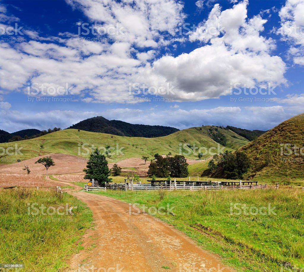 BTops Cattle Station Farm stock photo