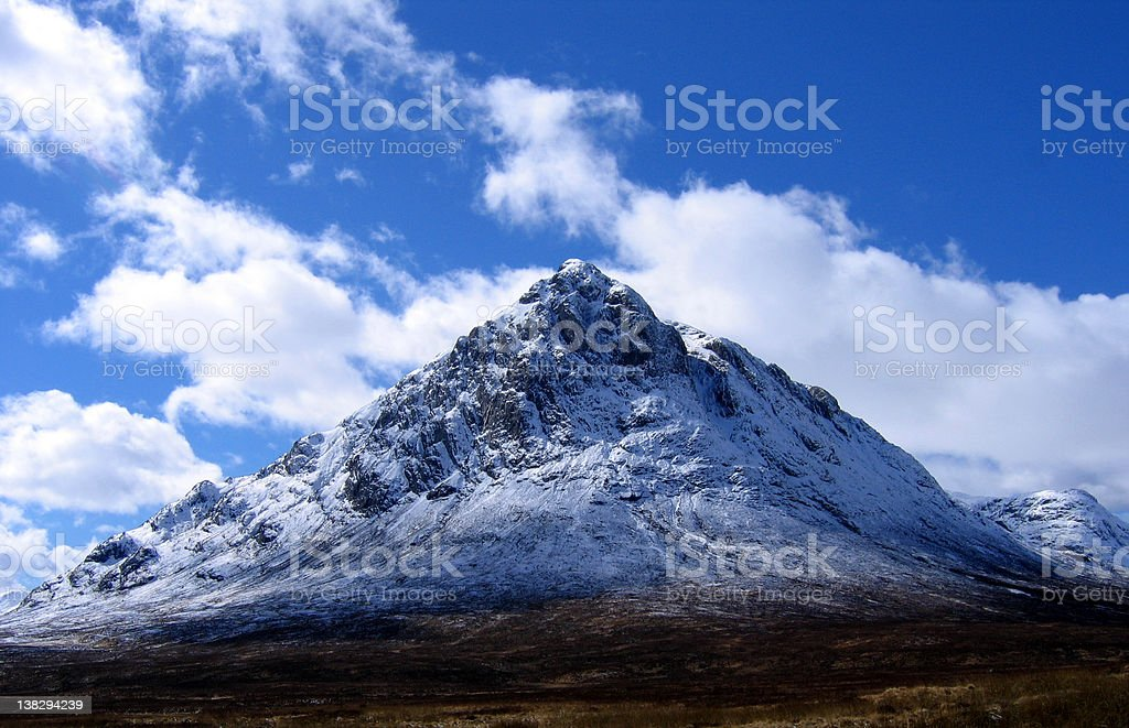 Buachaille Etive Mor royalty-free stock photo
