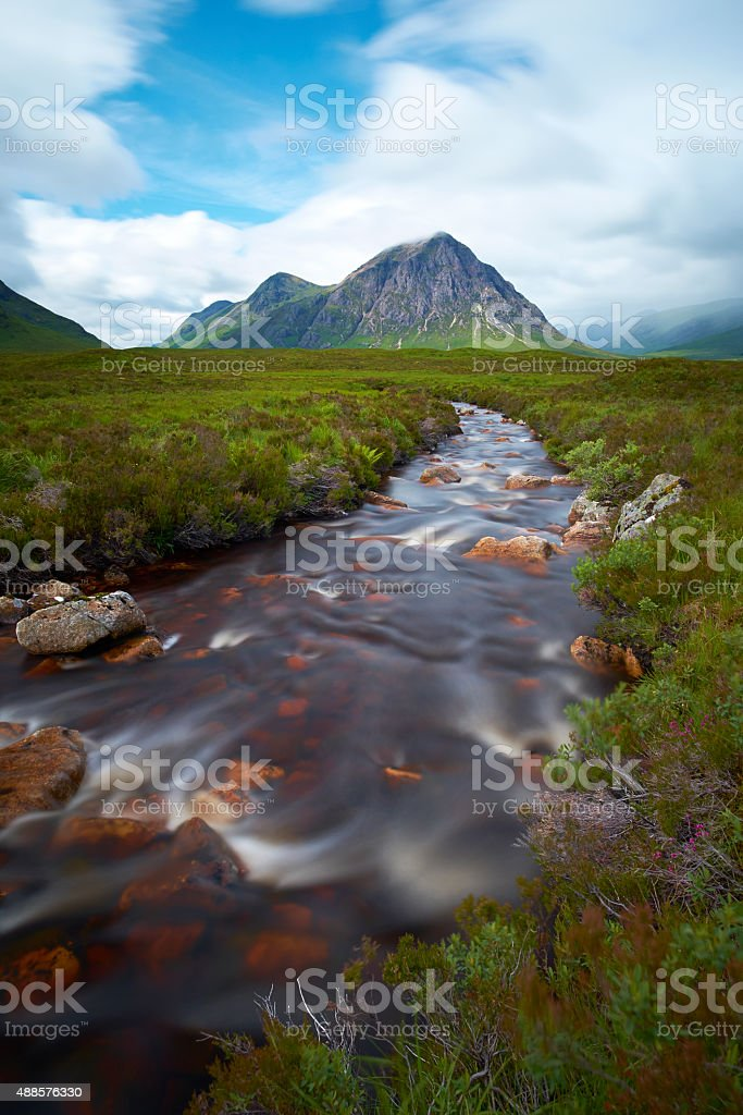 Buachaille Etive Mor Scenic stock photo