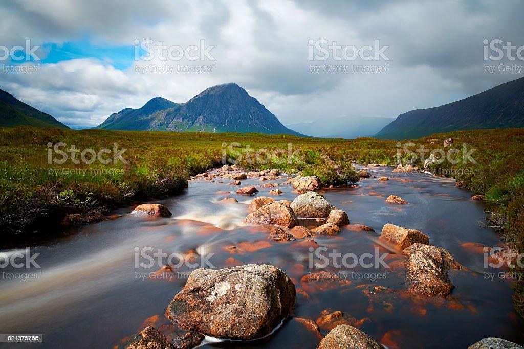 Buachaille Etive Mor Scenic stock photo