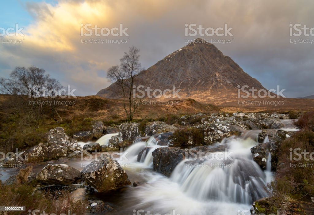 Buachaille Etive Mor, Scotland stock photo