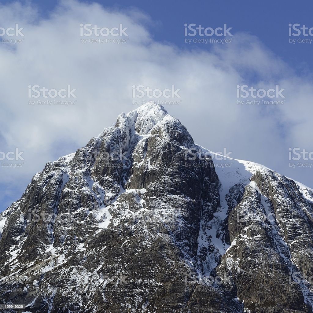 Buachaille Etive Mor summit stock photo
