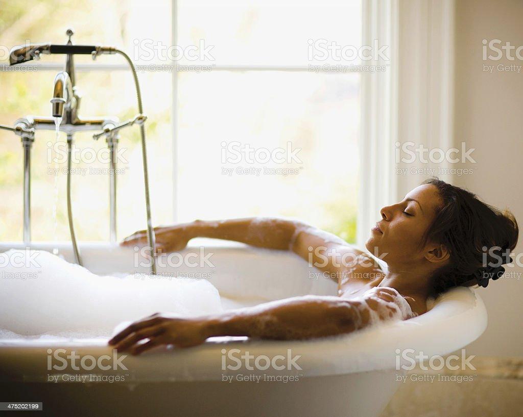 Bubble Bath stock photo