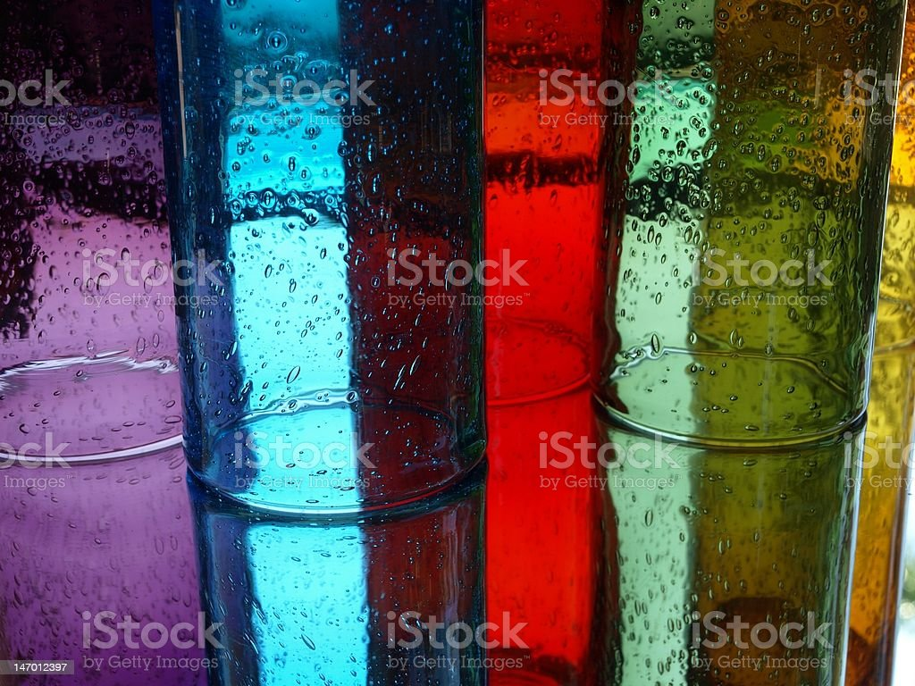 Bubble Glass Reflections 1 royalty-free stock photo