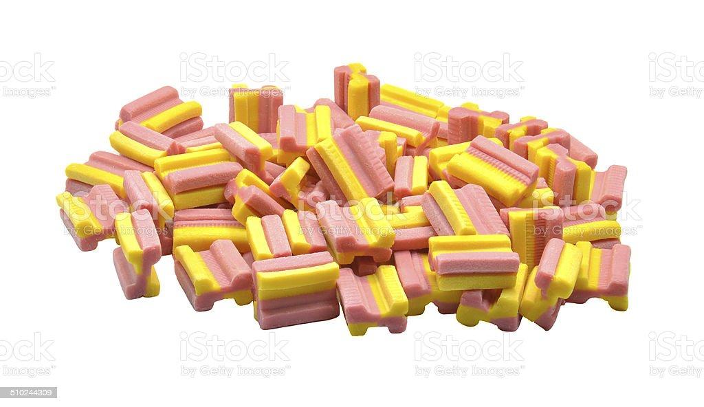 bubble gum stock photo